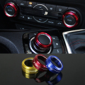 2015 New Car Styling 3PCS/SET Air Conditioning Heat Control Switch knob AC Knob Case For Mazda 3 Axela  2014 2015 HXY0151