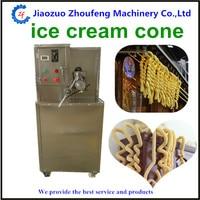 Hollow Tube Ice Cream Corn Popping Machine Filling Ice Cream Popcorn Tube Puffing Machine Ice Cream