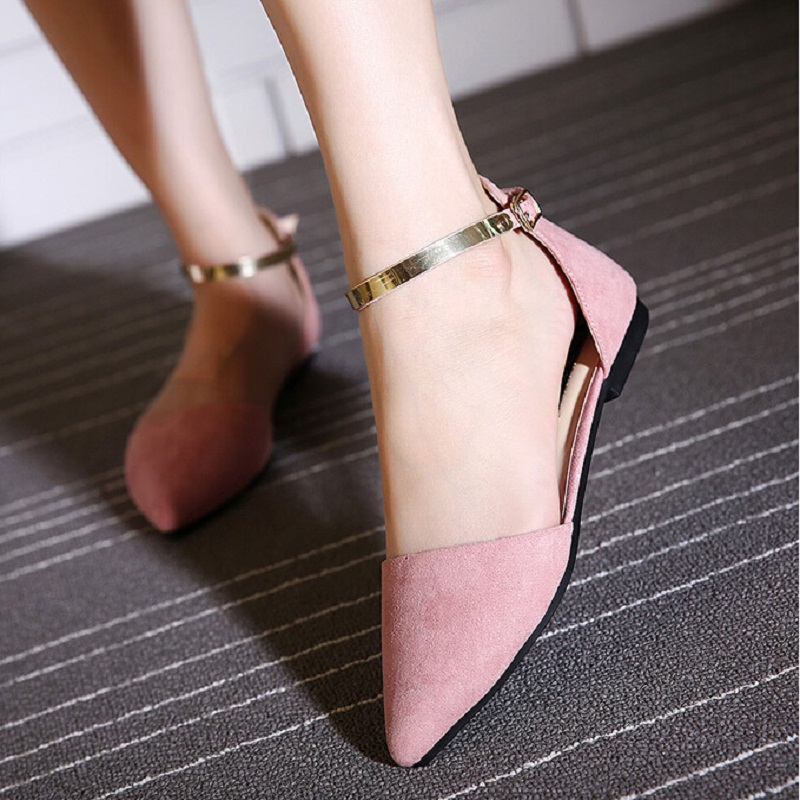 Summer Fashion Women Shoes Pointed Toe Slip-On Flat Shoes Woman Comfortable Single Casual Flats Sandals zapatos mujer women flats slip on casual shoes 2017 summer fashion new comfortable flock pointed toe flat shoes woman work loafers plus size
