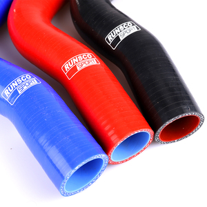 Image 5 - Silicone Coolant Radiator Hose Kit For For BMW E36 325 M3 92 99 Silicone Coolant Hose Blue Red Black 2PCs/Set