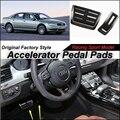 Педали акселератора автомобиль Pad / крышка из первоначально фабрики гонки дизайн модели для Audi A8 D3 4E 2002 ~ 2010 тюнинг