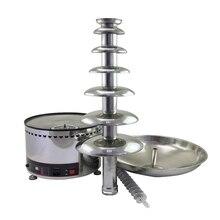 Очень большая распродажа только для 1 220 V коммерческого использования 7 Слои машина для шоколадного фонтана Высокое качество для вечерние магазин ЕС Plug