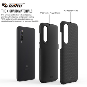 Image 2 - TOIKO X Guard 2 in 1 Shockproof Rugged Armor Phone Cases for Xiaomi Mi 9 Back Cover Hard PC Soft TPU Bumper Protective Shell New