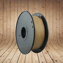 1 китай 100 г древесного волокна Материала 3D Принтер Накаливания Древесина 1.75 ММ Нити 100 г ABS PLA для MakerBot  RepRap   Flash Forge