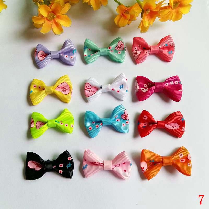 40pcs/lot DIY Handmade 3.5x2.5cm Satin Ribbon Bow Girls Fashion Dress Bow Wedding Party Gift Packing Bow Tie DIY Craft Accessor