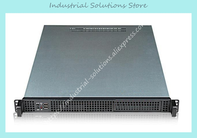 все цены на New 1U-155F Blade Rack-Mounted 1U Server Computer Case онлайн