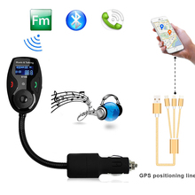 FM Transmitter Car MP3 Bluetooth Audio Player Wireless FM Modulator Car Kit Hands-Free Talk A2DP Car Battery Voltage Display New
