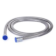 Convenience 2M Long Stainless Steel Flexible Replace Handheld Shower Head Hose