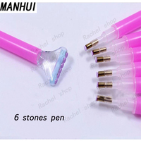 Wholasale Efficient Diamond Painting Tool Pen Useful Diamond Drawing DIY Accessory Tool Double Headed Pen TOOL001