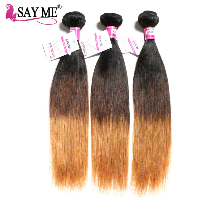 Ombre Brazilian Straight Hair