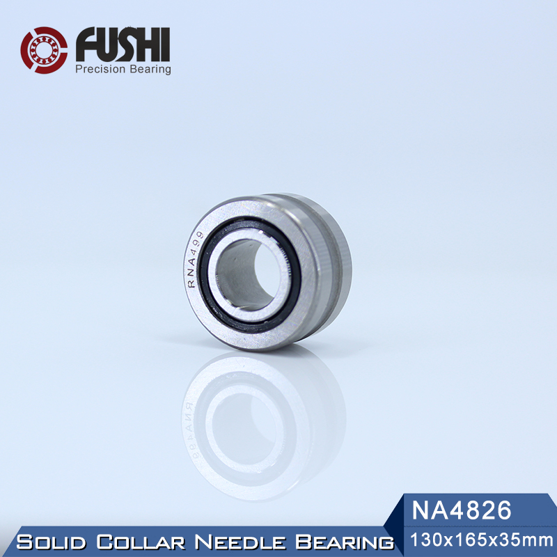 NA4826 Bearing 130*165*35 mm ( 1 PC ) Solid Collar Needle Roller Bearings With Inner Ring 4524826 4544826/A Bearing bk5020 needle bearings 50 58 20 mm 1 pc drawn cup needle roller bearing bk505820 caged closed one end 55941 50