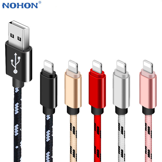 1m 2m 3m Data USB Charger Cable For iPhone 7 8 Plus 5 6 S