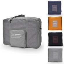 Cationic Waterproof Folding Travel Bag Large-Capacity Organizer Duffel Fashion Bags Hand Luggage