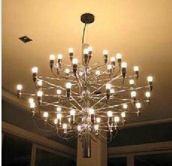 Mod 2097 Chandelier Gino Sarfatti 18/ 30/ 50 Heads Pendant Lamp Lights Lighting Fixtures Lluminaire