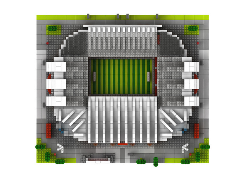 Image 5 - World Great Football No compatible legoed stadium Field building kit mini nanoed micro block Brick architecture Club Cup kid Toy-in Blocks from Toys & Hobbies