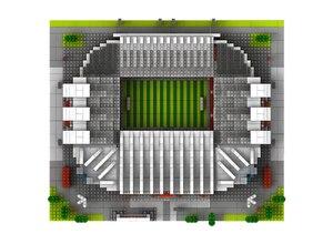 Image 5 - World Great Football Soccer Player Stadium Field Building Kit Mini Micro Block Brick Architecture Club Cup Kid Toy