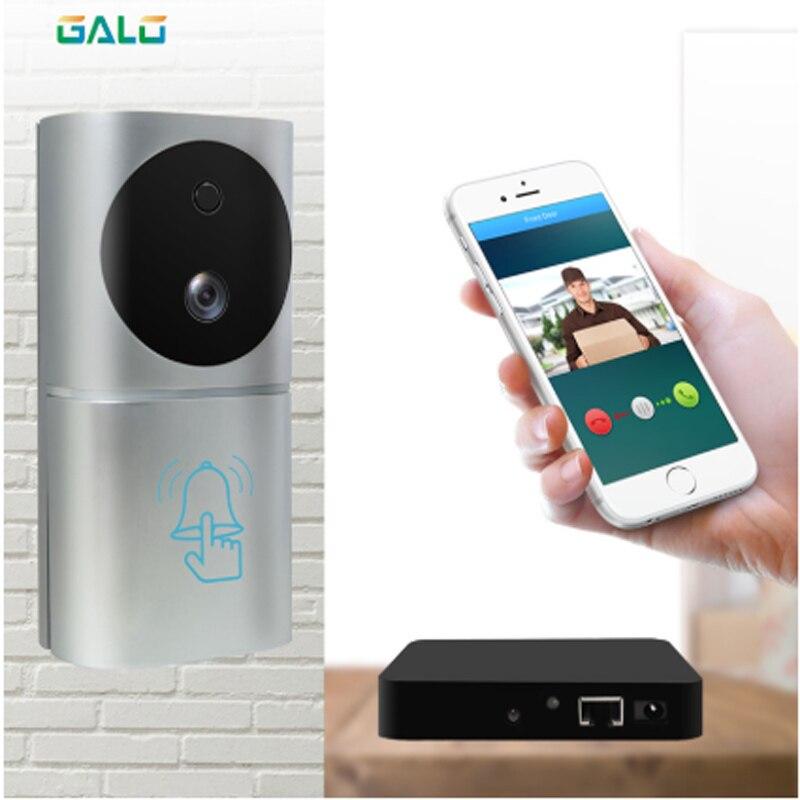 2020 New Style Home Security WiFi Camera Door Bell Human Detection 1080P Smart Video Door Phone IOs Android WiFi Video Doorphone