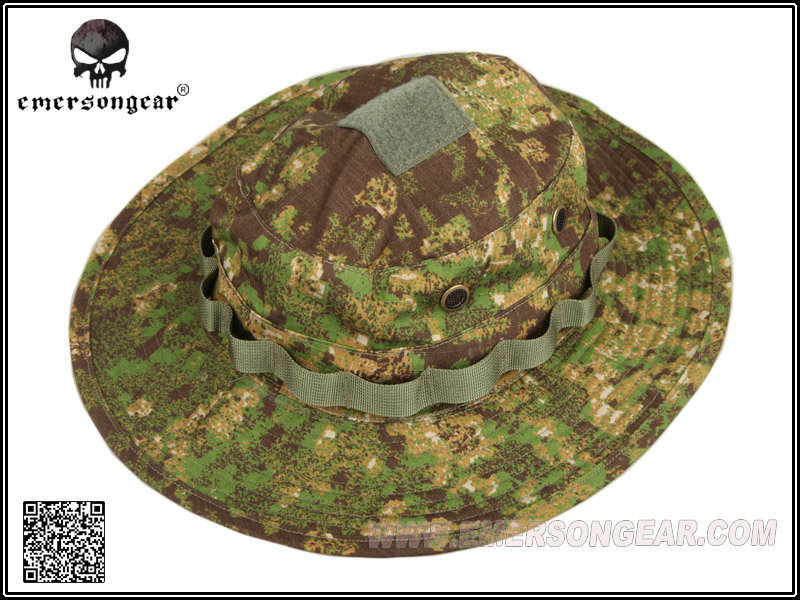 aa5218ea79fc20 EMERSON Bucket Hat Tactical Hunting Fishing Outdoor Cap - Wide Brim  Military Boonie Hat Greenzone Hunting Hat