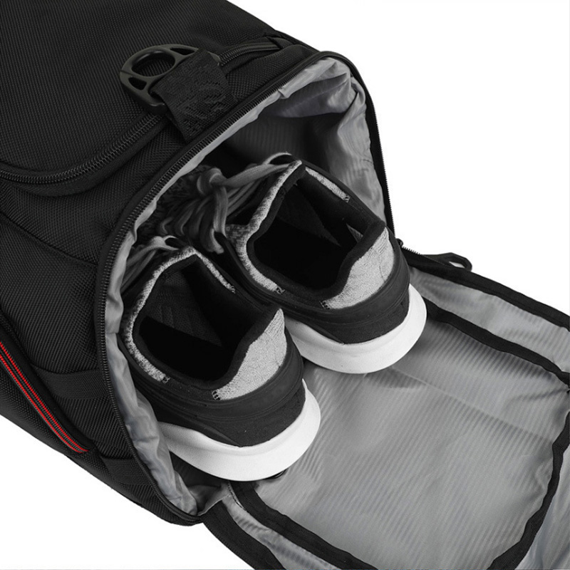 Outdoor Men Large Training Sports Bag Gym Bag with Shoes Pocket Duffel Tote Travel Backpack Shoulder Handbag Male Fitness Bag