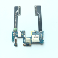 Headphone Jack Sim Card Slot Holder Power Flex Cable Assembly For HTC Droid Butterfly S 901E