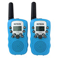 2pcs Walkie Talkie RT-388 UHF462.550-467.7125MHz 0.5W 22CH For Kid 2 Way RadioLCD Display Flashlight VOX Portable CB Radio A7027