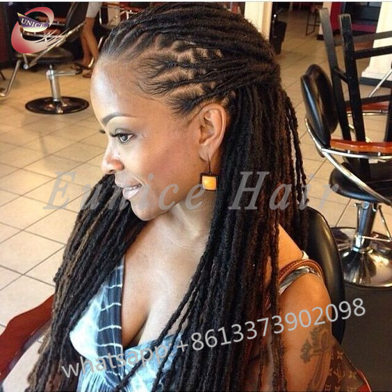 Full Colour Curly Crochet African Hair Braiding Extensions24