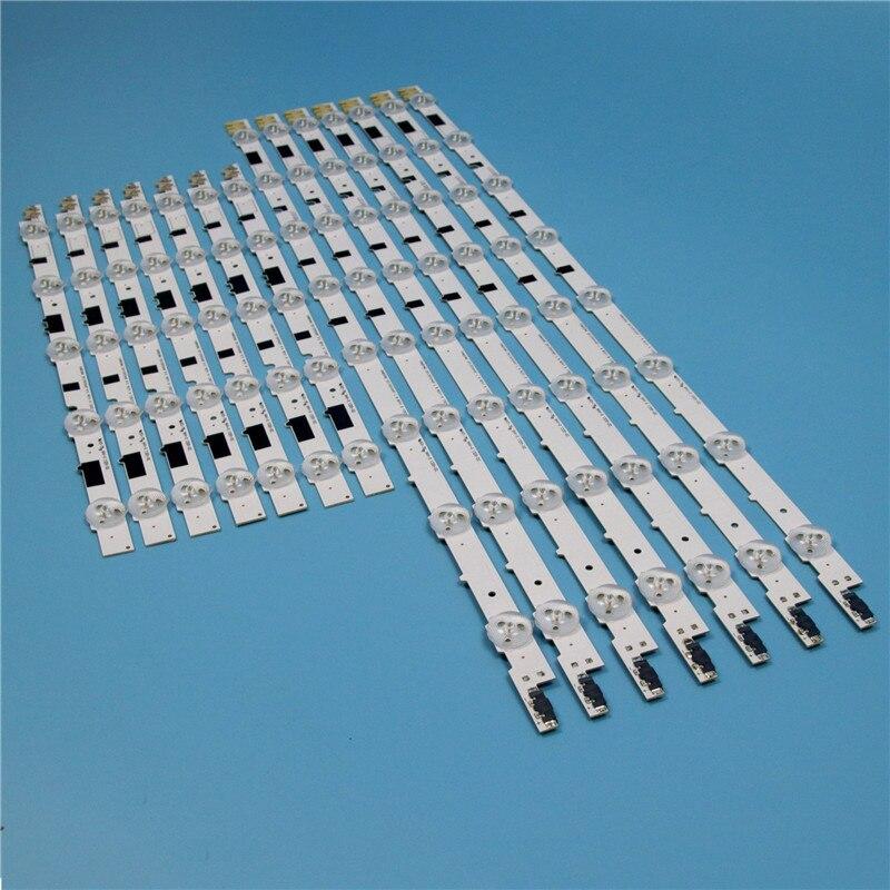 832mm 14 Piece/Set LED Array Bars For Samsung UE40F6800AB UE40F6800SB 40 Inches TV Backlight LED Strip Light Matrix Lamps Bands
