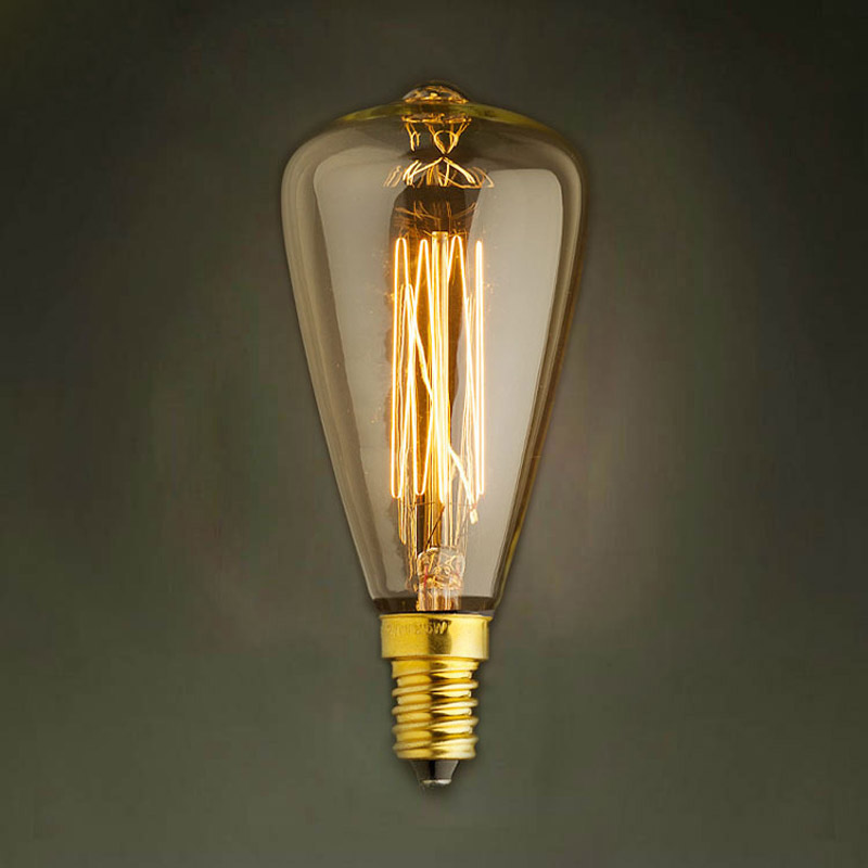 Lâmpadas Incandescentes edison vintage lâmpadas e14 220 Tolerância de Potência : 1%