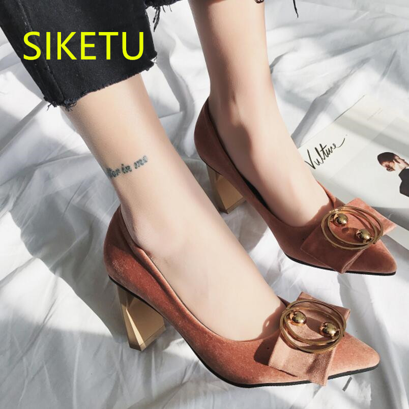 SIKETU Free shipping Spring and autumn women shoes Fashion high heels shoes summer wedding shoes pumps g214 Wild sandals 2017 free shipping siketu spring and autumn women shoes fashion high heels shoes wedding shoes pumps g174 summer sandals