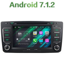 GPS Navi 2GB RAM 16GB ROM Android 7.1.2 Quad Core Bluetooth Stereo Radio 2 Din Car Multimedia Player for Volkswagen Octavia 2012