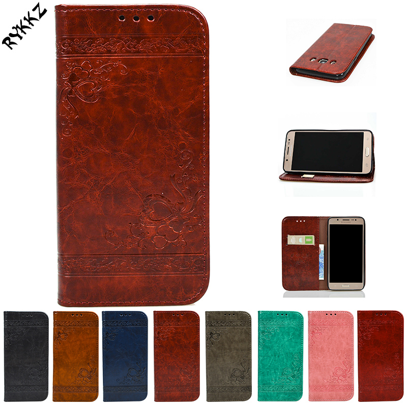 For Samsung Galaxy J5 2016 J510 SM-j510 J510F J510H Flip Case Phone Leather Cover for Samsung J56 SM-J510F Silicone phone bags