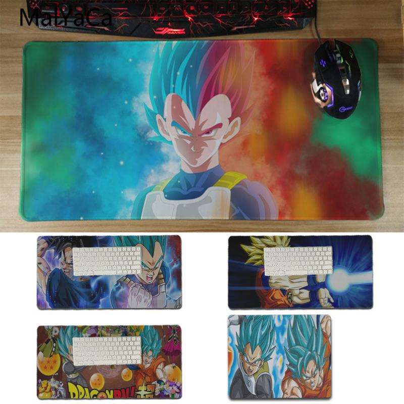 Yinuoda Dragon Ball Super Anti-Slip Durable Silicone Computermats Size for 30x60cm and 30x60cm Gaming Mousepads