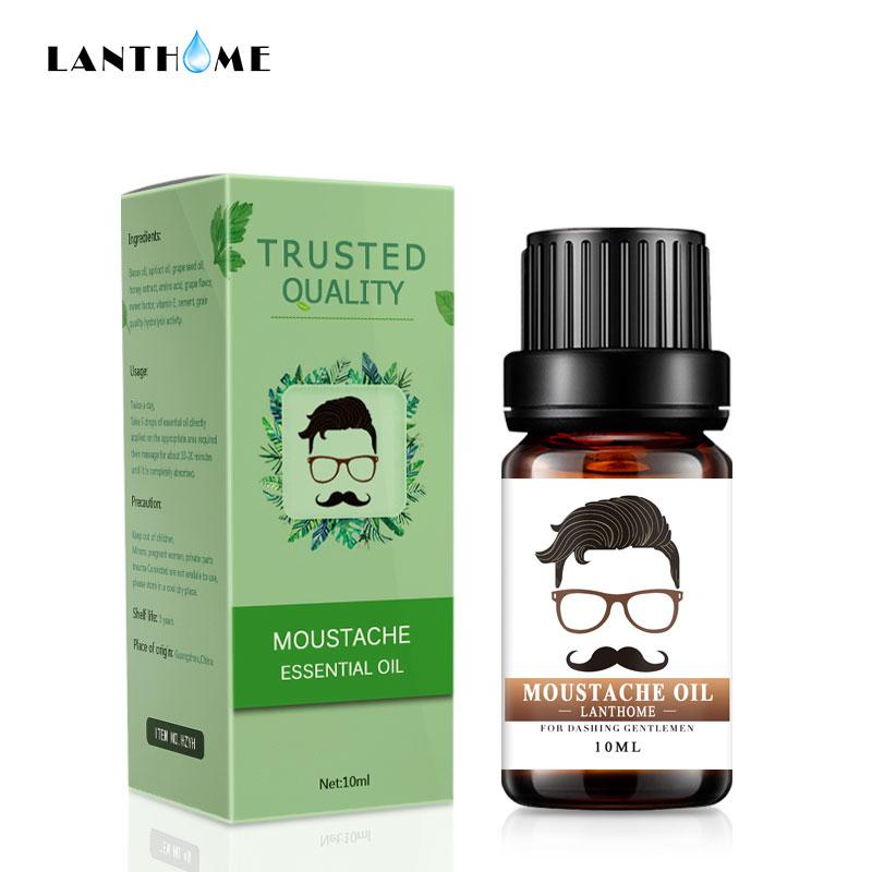 Professional Men Beard Growth Enhancer Herb Hair Growth Liquid Facial Nutrition Moustache Grow Serum Safe Hair Care Oil Lahore
