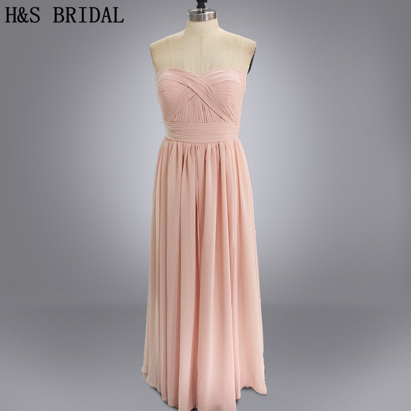 Real photo Changeable Neckline amazing   bridesmaid     dresses