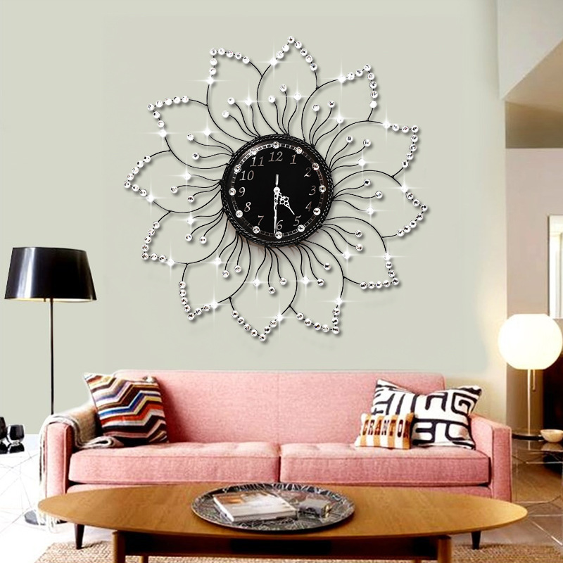 Clocks wall clocks home decor the flowers of european for Home decor uk sheffield