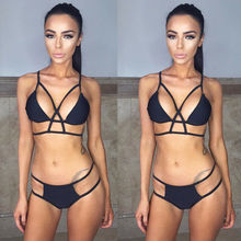 Bandage Push Up Padded Swimwear