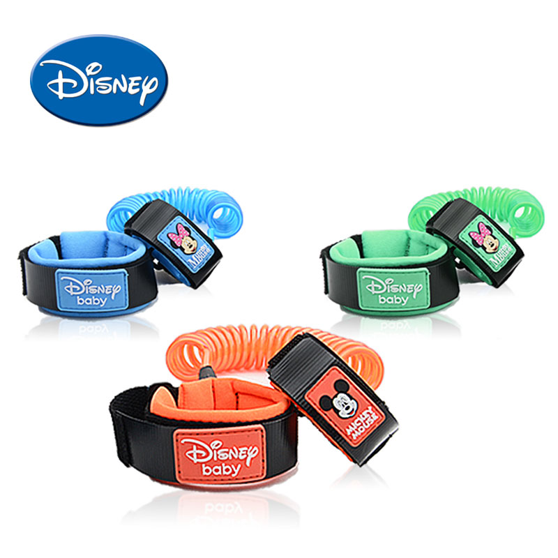 Disney Anti Lost Wrist Link Toddler Leash Safety Harness Baby Strap Rope Outdoor Walking ...