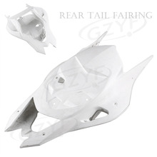 Unpainted  Tail Rear Fairing Cover Bodykits Bodywork for BMW S1000RR 2012 Injection Mold ABS Plastic worker light weight shoulder tail stock injection mold for nerf