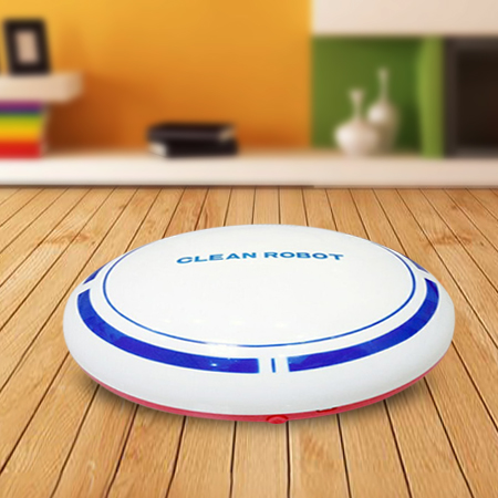 2 In 1 Rechargeable Floor Sweeping Robot Dust Catcher Intelligent Auto-Induction Floor Sweeping Robot Vacuum Cleaner(China)