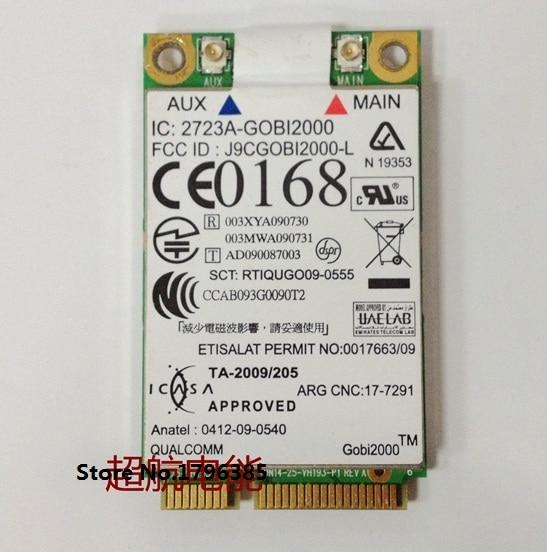Ssea gobi2000 3g wwan gps karte fru 60y3263 für ibm lenovo thinkpad...