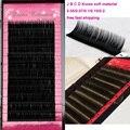 0.15 C D Curl Corea Gruesas Falsa Visón Pestañas Extensiones de Maquillaje Herramientas de Belleza de Seda D pestañas 20 caja
