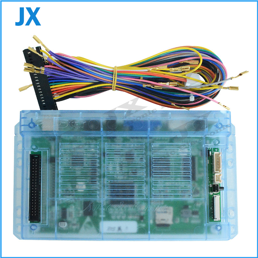 Box 5S 999 in 1 Family Version Motherboard Accessories and Harness For video game console USB HDMI VGA Video game jack