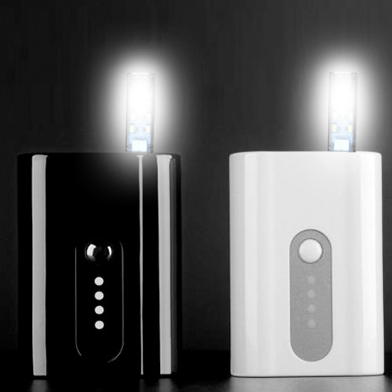 New Mini USB Led Night Light Camping lamp double sided 12 leds USB Charging Reading light Computer Laptop desk LED lamp P20
