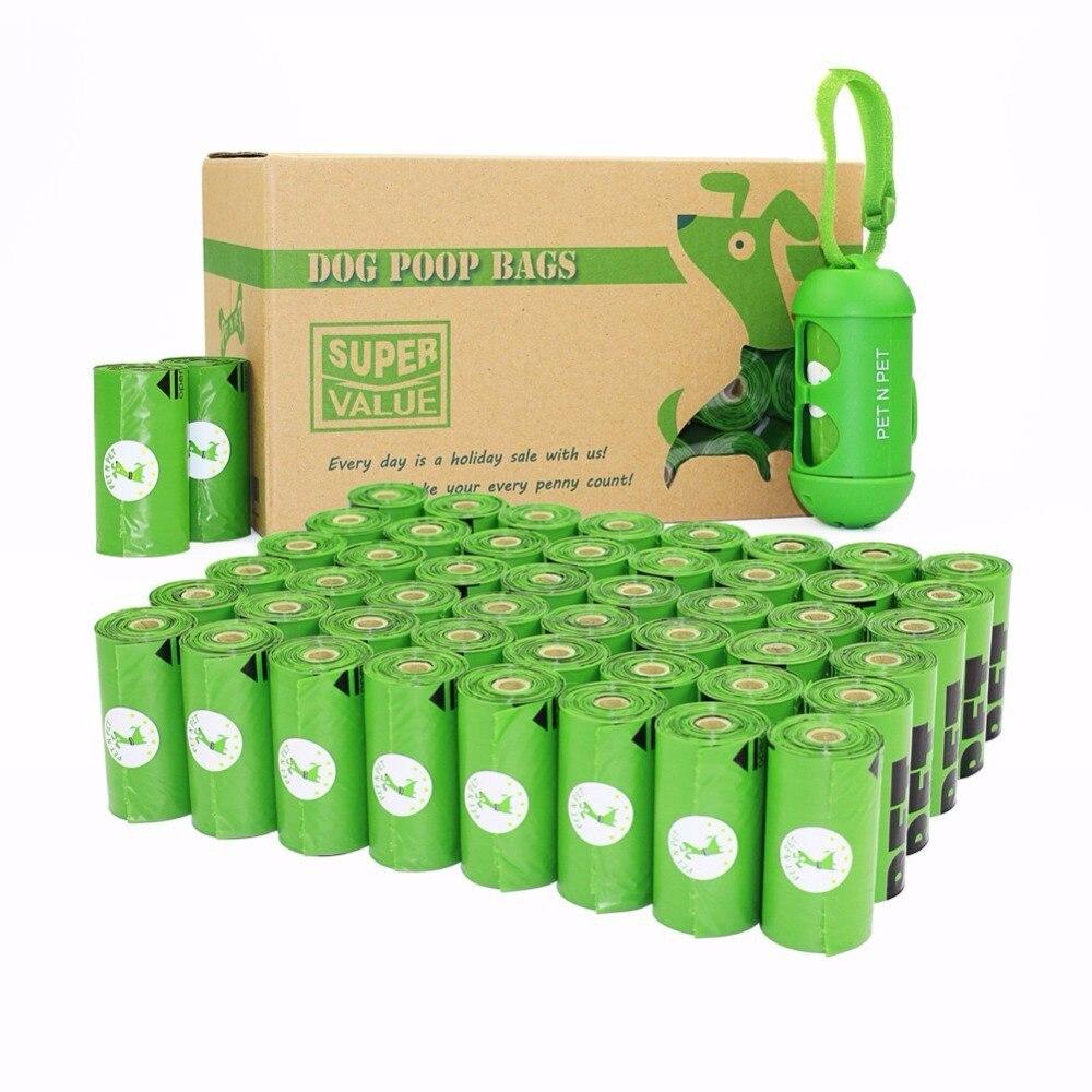 PET N PET 720 Liczy 48 Rolls Zielony Pieska Dog Poop Bezzapachowa Worki na Odpady