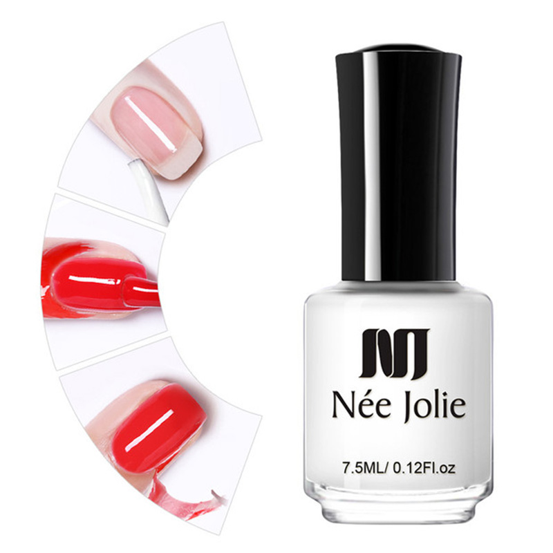NEE JOLIE 3 5ml Nail Latex Peel Off Liquid Tape From Nail Finger Protection Lacquer Protect Nails Polish For DIY Stamping in Nail Polish from Beauty Health