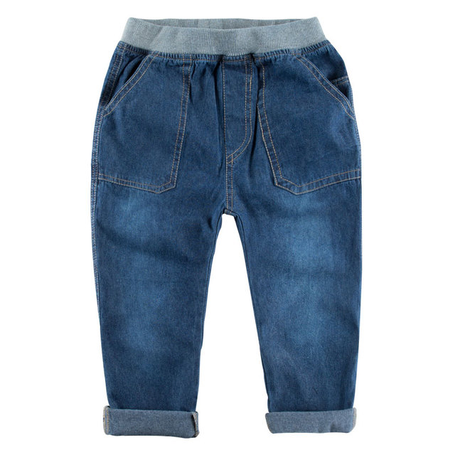 New 2016 spring autumn children's clothing boys baby jeans children trousers new Korean kids jeans version retail 4-11 years