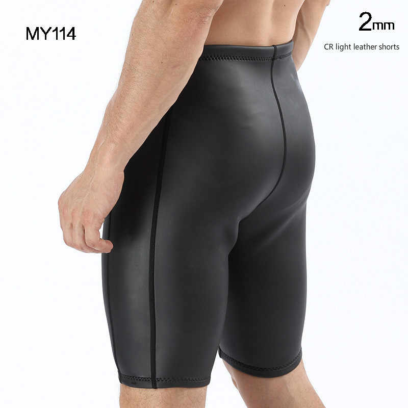 Hombres 2mm triatlón CR piel suave YAMAMOTO neopreno traje pantalones de buceo largo/pantalones cortos pantalones extra elásticos para sarpullido guardia de kayak