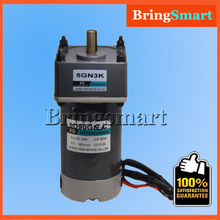 5D90GN-C 12V 24V DC Geared Motor 90W High Torque DC Permanent Magnet Motor Adjustable Speed Reversible Electric Engine