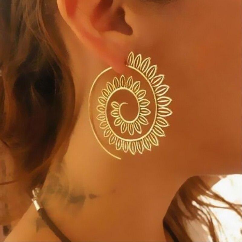 2018-New-Fashion-Swirl-Drop-Earrings-Gypsy-Tribal-Spiral-Ethic-Dangle-Earrings-Boho-Earrings-for-Women (2)