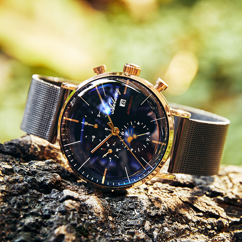 9d6c1e2d7d0d AILANG Top Luxury Fashion Brand Men s Automatic Mechanical Watch Minimalist  Sports Watch Man Reloj Diesel Simple Men Watch -in Mechanical Watches from  ...